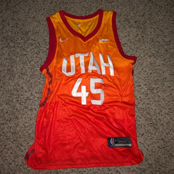 more photos 72493 8bd40 Utah Jazz - Donovan Mitchell Jersey